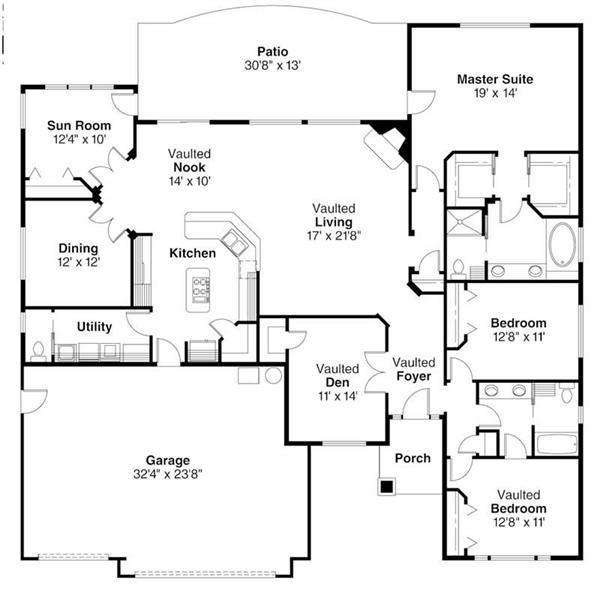 108-1279: Floor Plan Main Level