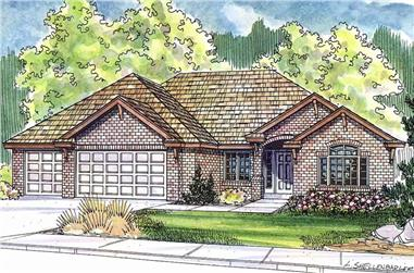 3–4-Bedroom, 2561 Sq Ft Ranch Home - Plan #108-1279 - Main Exterior