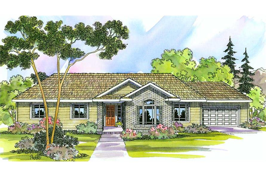 Main image for house plan # 2958