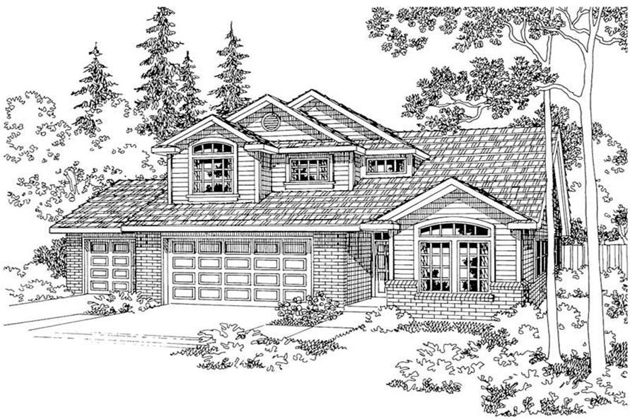 Main image for house plan # 2899