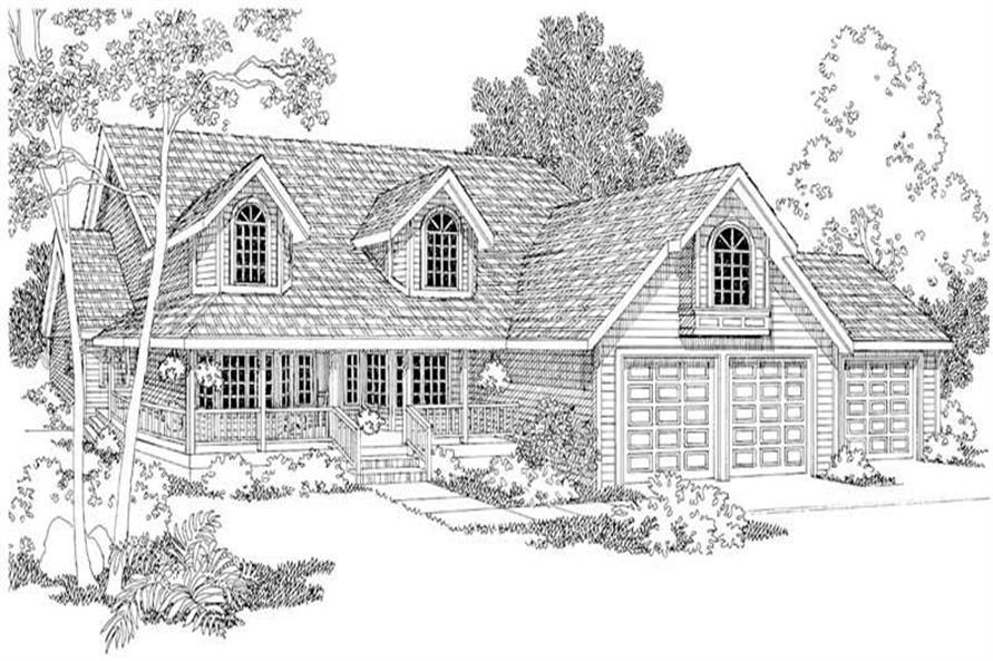 Main image for house plan # 2961
