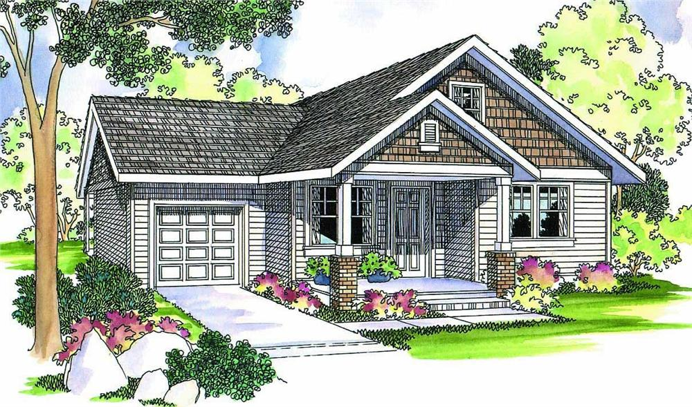 Main image for house plan # 2962