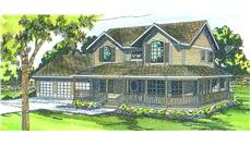 Main image for house plan # 2853