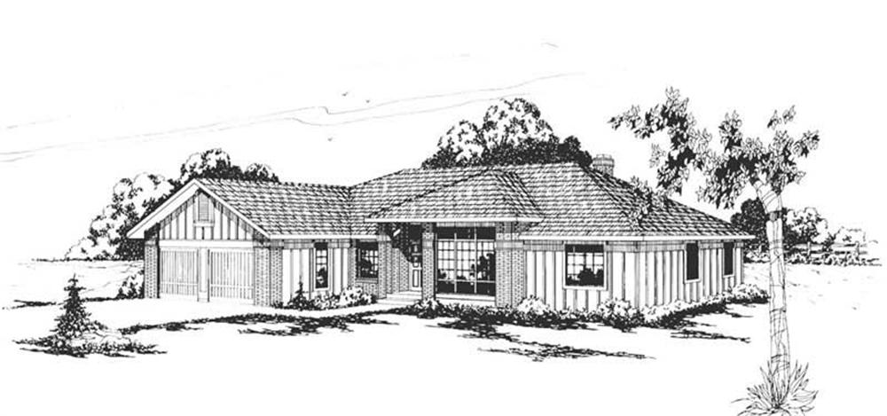 Main image for house plan # 2850