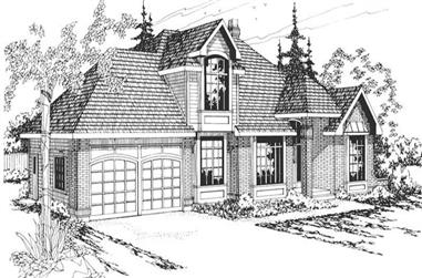 4-Bedroom, 2590 Sq Ft Traditional House Plan - 108-1313 - Front Exterior