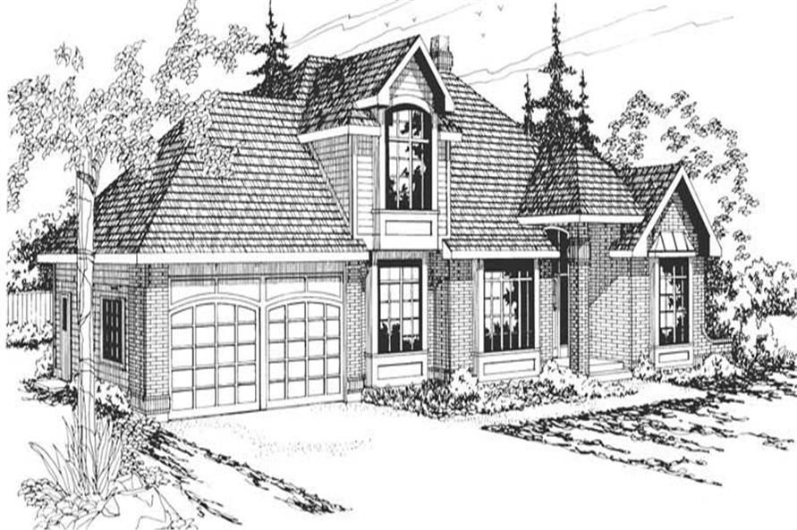 Main image for house plan # 2841