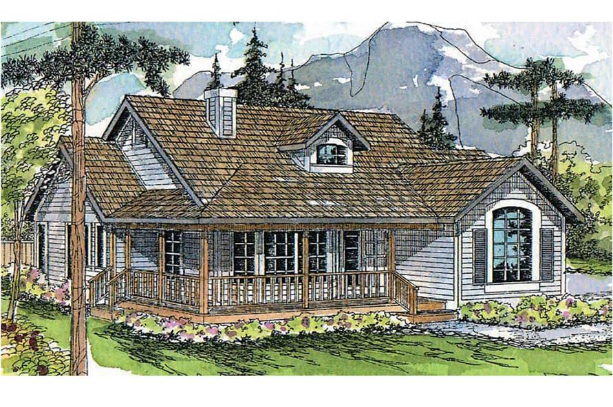 3-Bedroom, 1794 Sq Ft Farmhouse House - Plan #108-1315 - Front Exterior