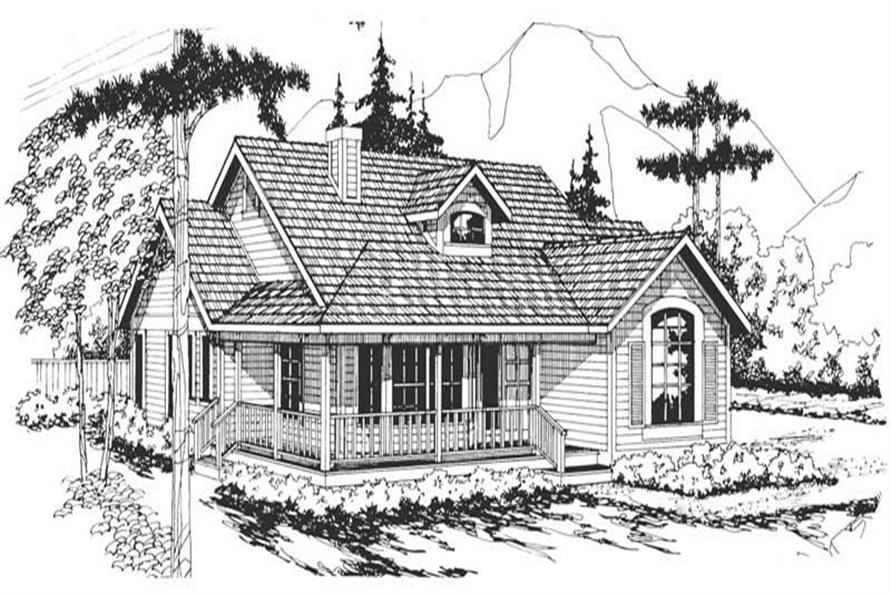 Cambridge Main Elevation of this 3-Bedroom,1794 Sq Ft Plan -1794