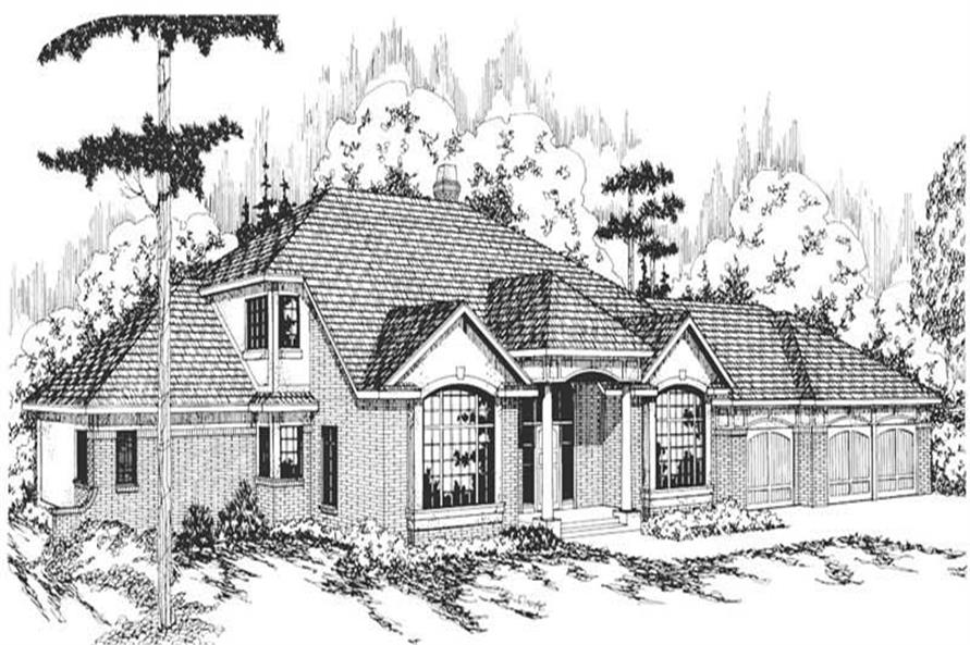 Main image for house plan # 2838