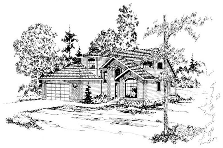 Main image for house plan # 2867