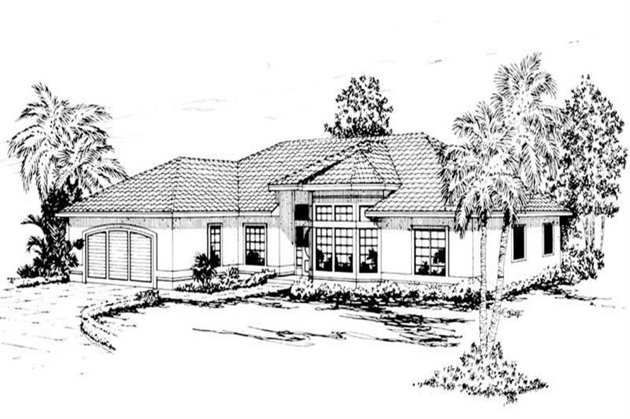 Main image for house plan # 3145