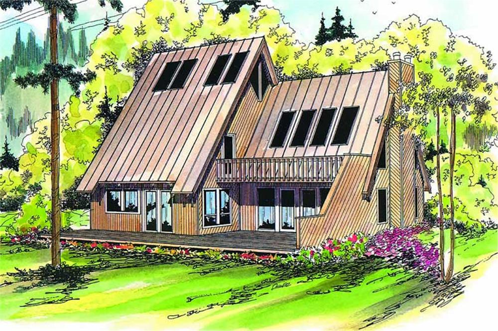 Main image for house plan # 2830