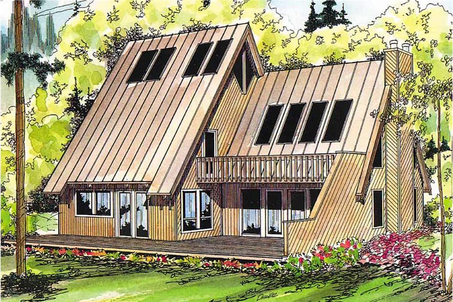 3-Bedroom, 1839 Sq Ft Contemporary House - Plan #108-1337 - Front Exterior