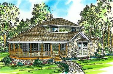 Main image for house plan # 2864