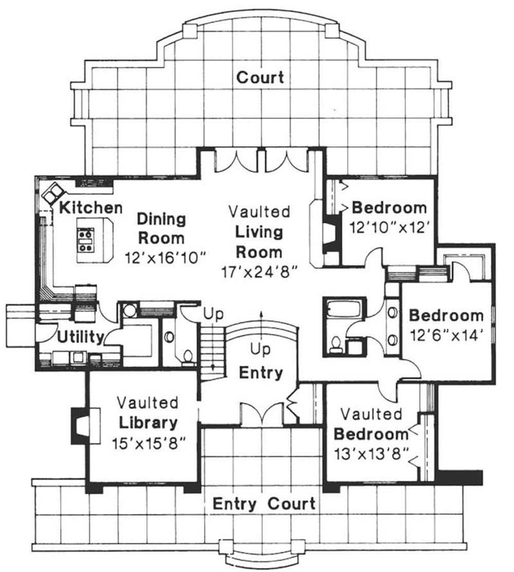 First Floor Floor Plan for Ashton