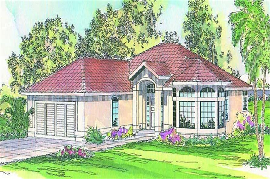 Main image for house plan # 3158