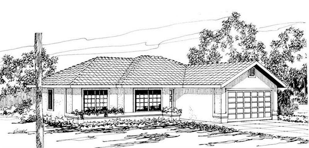 Main image for house plan # 3170