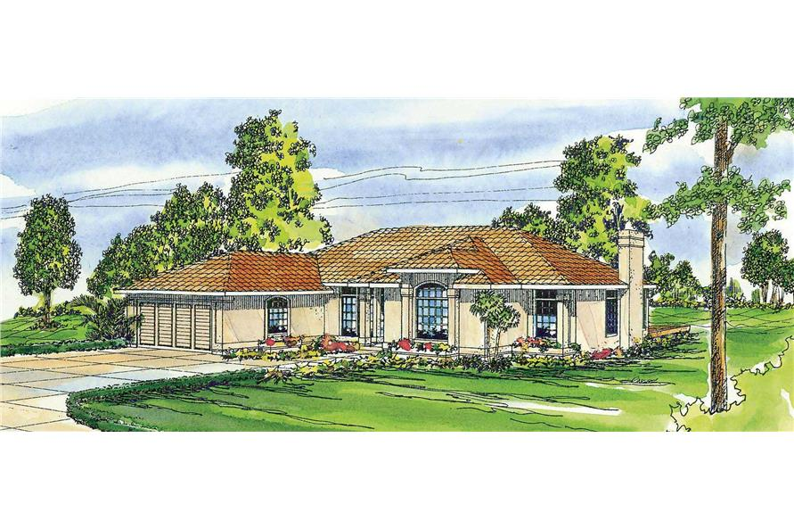 Main image for house plan # 3169