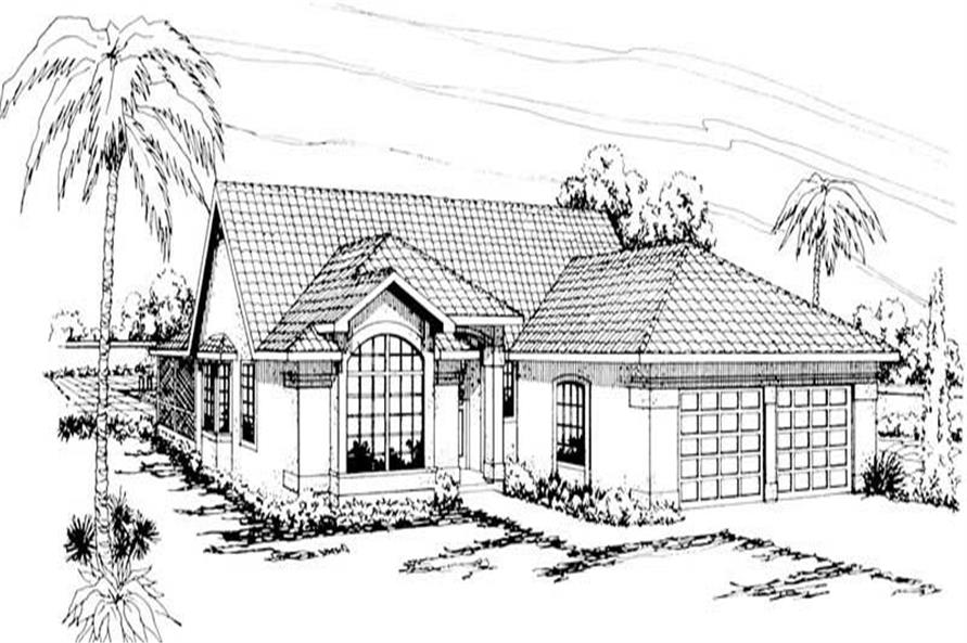 Main image for house plan # 3168