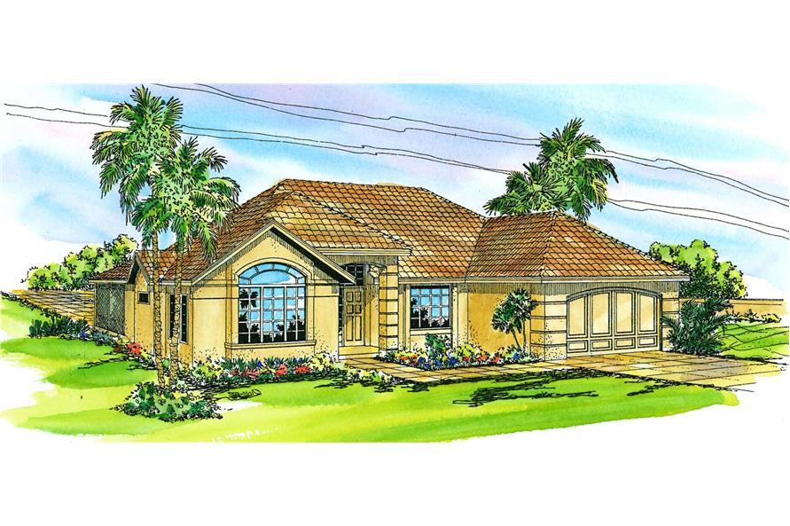 Main image for house plan # 3166
