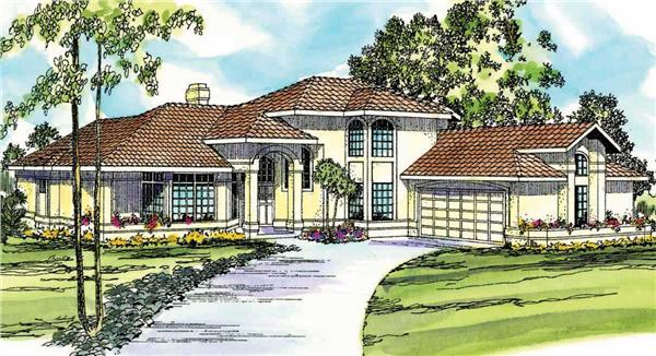Main image for house plan # 3163