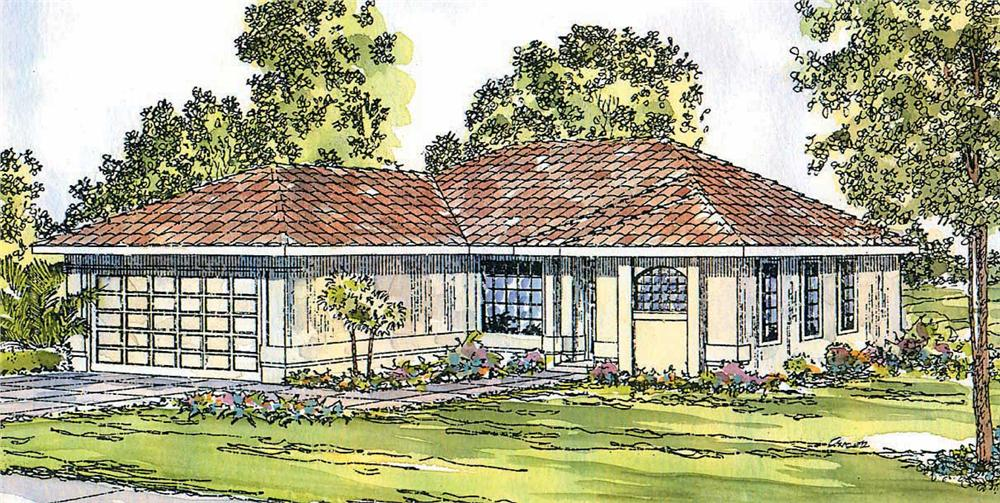 Main image for house plan # 3162