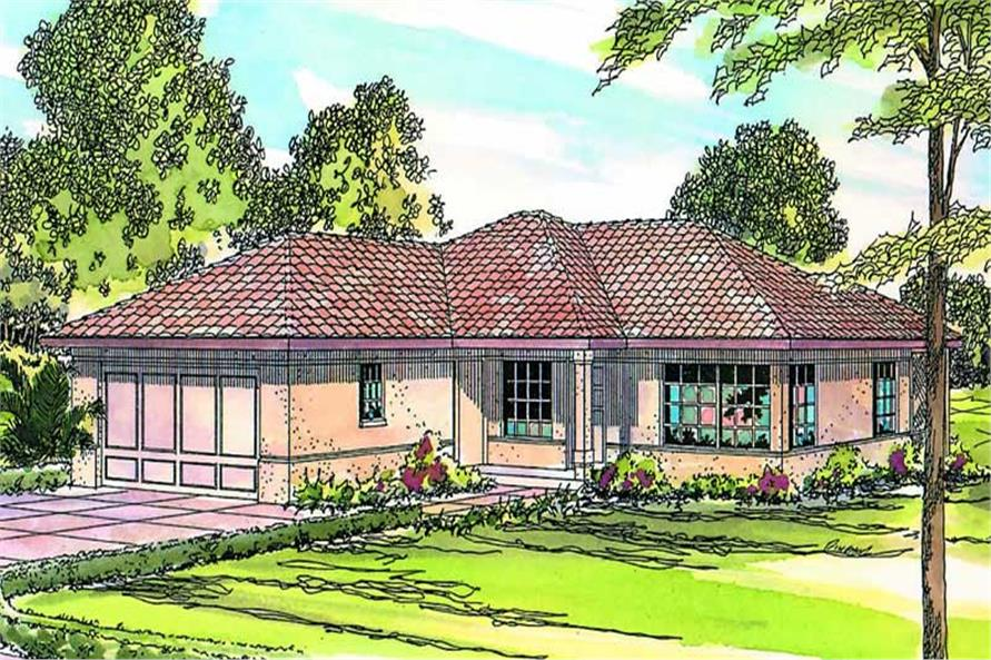 Main image for house plan # 3173