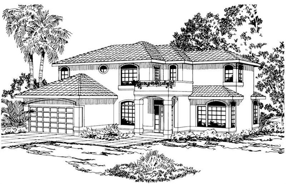 Main Elevation for Bellaire