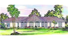Main image for house plan # 3156