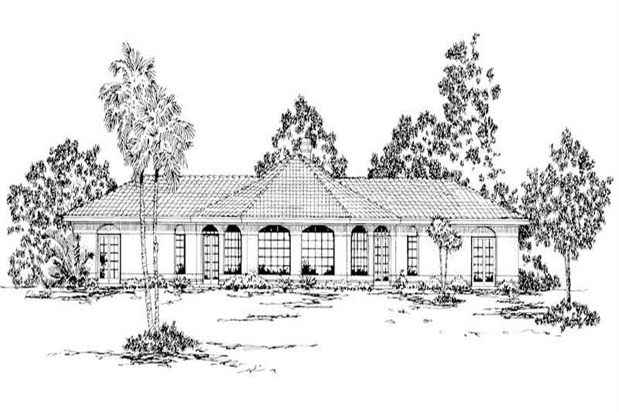 Home Plan Other Image of this 2-Bedroom,1778 Sq Ft Plan -108-1364