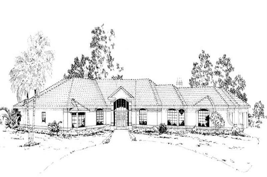Home Plan Rendering of this 2-Bedroom,3926 Sq Ft Plan -3926