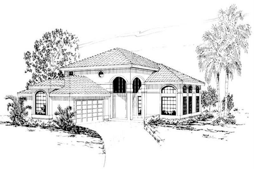Main image for house plan # 3153