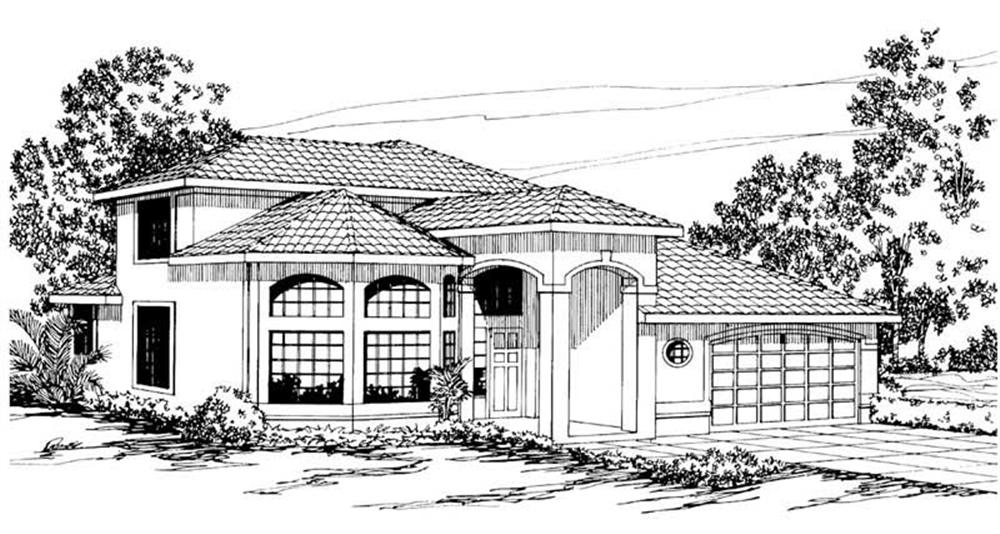 Main image for house plan # 3151