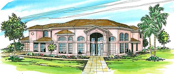 Main image for house plan # 3150