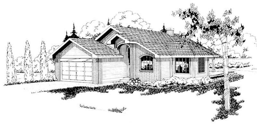 Main image for house plan # 2829