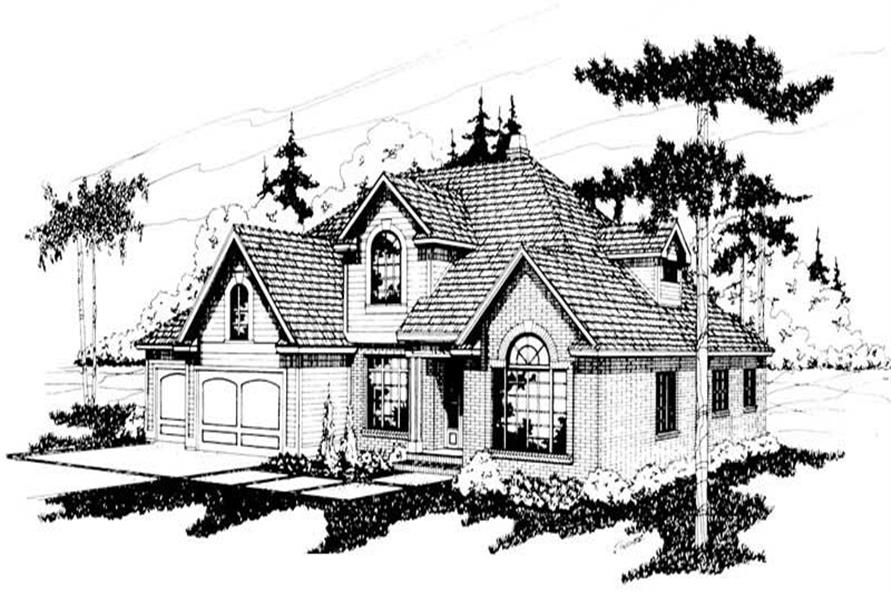 Main image for house plan # 2828