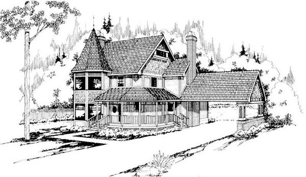 Main image for house plan # 2826