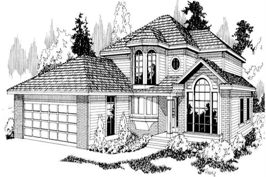 Main image for house plan # 2825