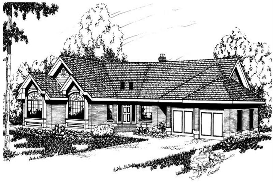 Home Plan Other Image of this 3-Bedroom,2630 Sq Ft Plan -108-1388