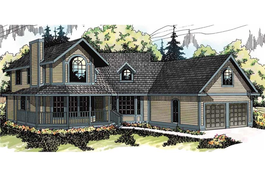 Main image for house plan # 2812