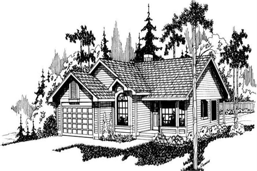 Main image for house plan # 2811