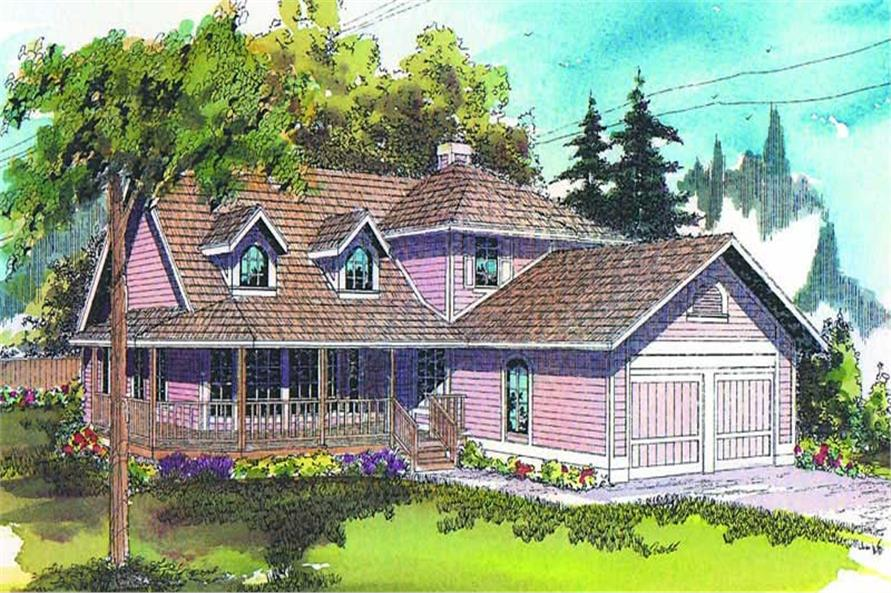 Main image for house plan # 2809