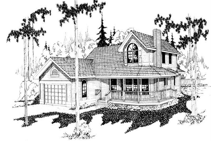 Main image for house plan # 2815