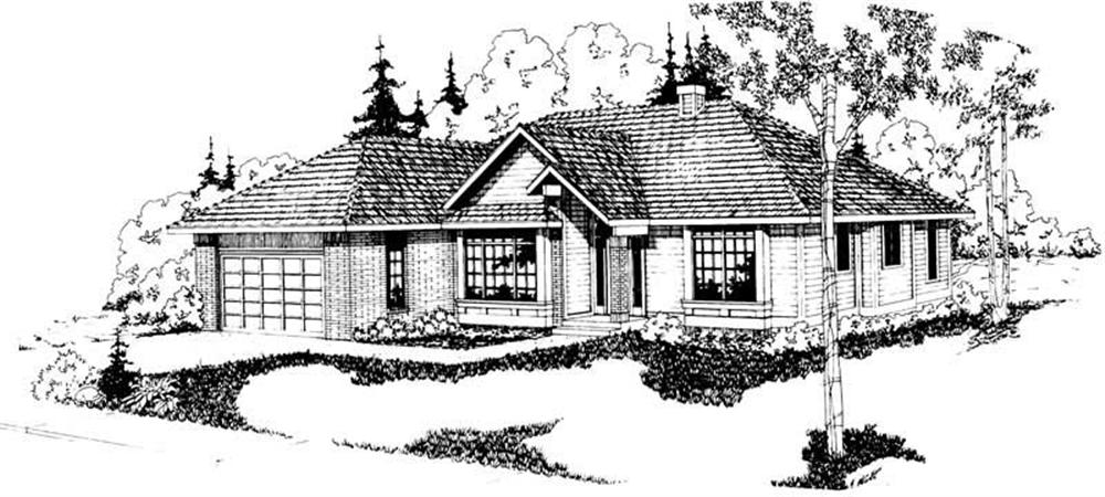 Main image for house plan # 2816