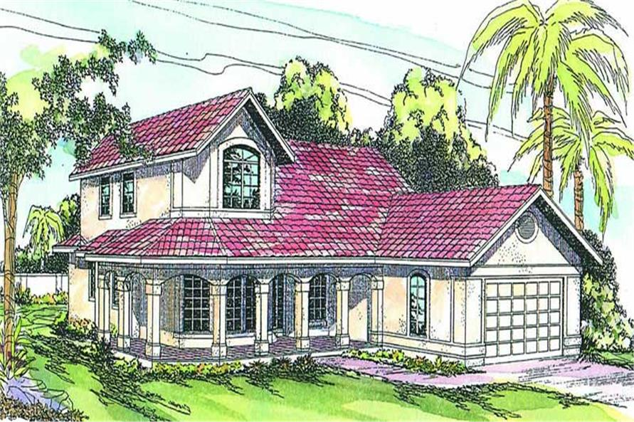Main image for house plan # 3174
