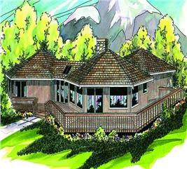 House Plan #108-1398
