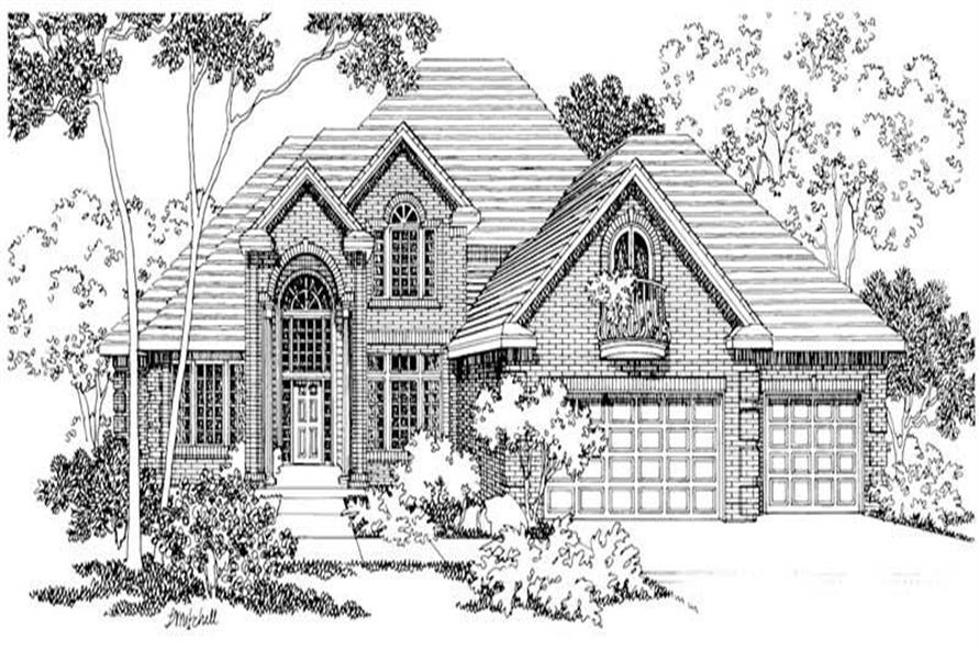 Main image for house plan # 3075