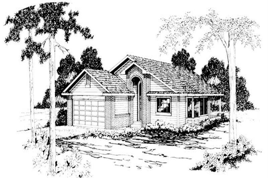 Main image for house plan # 2883