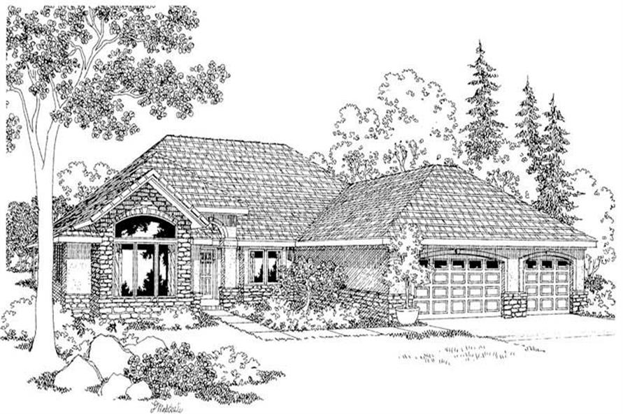 Palermo Main Elevation of this 3-Bedroom,2274 Sq Ft Plan -2274