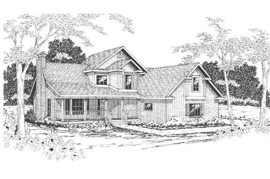 108-1411: Home Plan Rendering